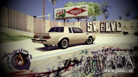 Skate Park pour GTA San Andreas troisième écran