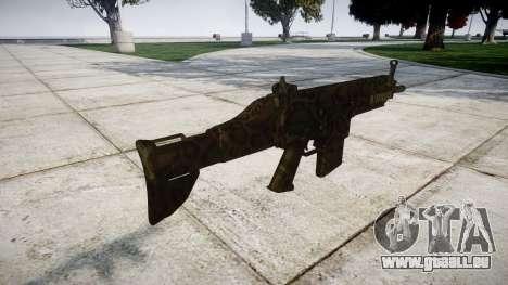 Gewehr SCAR-H für GTA 4 Sekunden Bildschirm