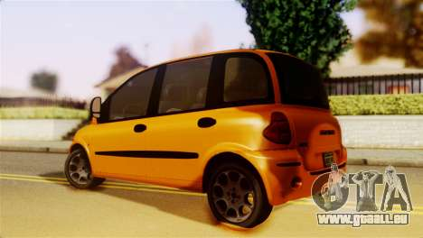 Fiat Multipla Normal Bumpers für GTA San Andreas linke Ansicht