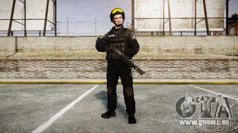 Les uniformes de l'agression des groupes spéciau pour GTA 4