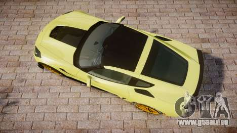 Chevrolet Corvette Z06 2015 TireGY für GTA 4 rechte Ansicht