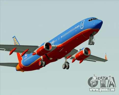 Boeing 737-800 Southwest Airlines pour GTA San Andreas moteur