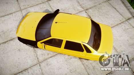 VAZ-Lada 2170 Priora hobo pour GTA 4 est un droit