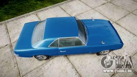 GTA V Declasse Vigero für GTA 4 rechte Ansicht