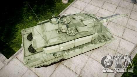 Leopard 2A7 PT Green für GTA 4 rechte Ansicht
