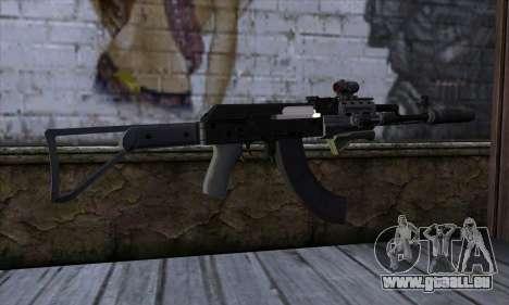 Assault Rifle from GTA 5 pour GTA San Andreas deuxième écran
