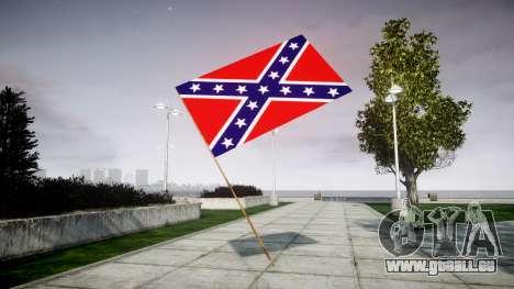 Die Flagge der Konföderierten Staaten für GTA 4 Sekunden Bildschirm