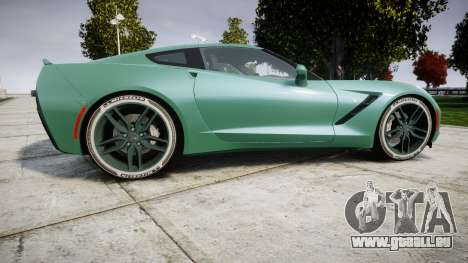 Chevrolet Corvette C7 Stingray 2014 v2.0 TireMi3 pour GTA 4 est une gauche