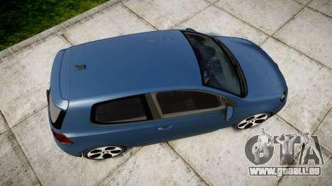 Volkswagen Golf GTI 2010 pour GTA 4 est un droit