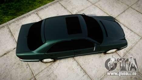 Mercedes-Benz W210 E55 2000 AMG pour GTA 4 est un droit