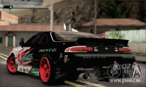 Nissan Silvia S14 Zenki Matt Powers pour GTA San Andreas laissé vue