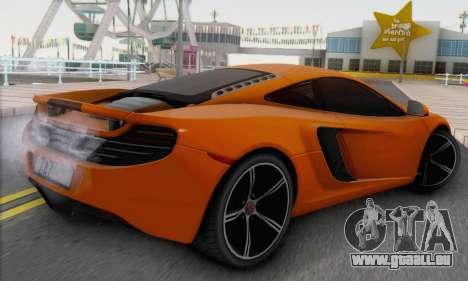 McLaren MP4-12C Gawai v1.4 für GTA San Andreas linke Ansicht