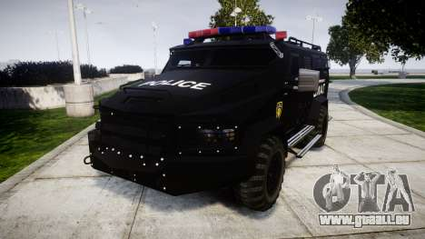 SWAT Van [ELS] pour GTA 4