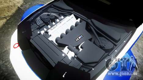BMW M3 E46 GTR Most Wanted plate NFS für GTA 4 Seitenansicht