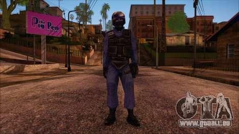 GSG9 from Counter Strike Condition Zero pour GTA San Andreas