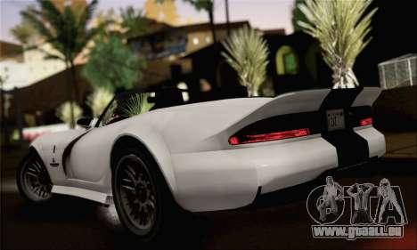 GTA 5 Bravado Banshee (IVF) für GTA San Andreas linke Ansicht