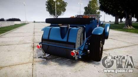 Bentley Blower 4.5 Litre Supercharged [high] für GTA 4 hinten links Ansicht