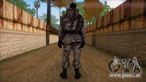 Artic from Counter Strike Condition Zero für GTA San Andreas zweiten Screenshot