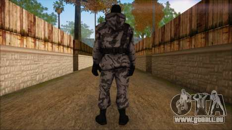 Artic from Counter Strike Condition Zero pour GTA San Andreas deuxième écran