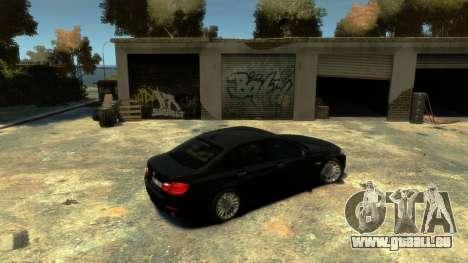 BMW 525 F10 pour GTA 4 est un droit