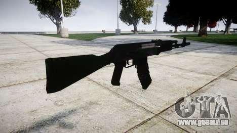L'AKM-74 pour GTA 4 secondes d'écran