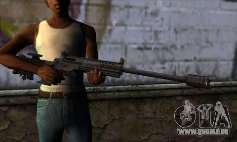 JNG-90 pour GTA San Andreas troisième écran