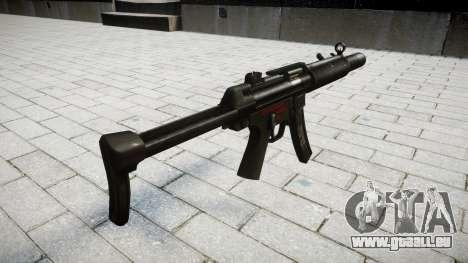 Pistolet MP5SD RO FS pour GTA 4 secondes d'écran