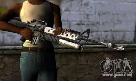 M4 from Call of Duty: Black Ops v2 für GTA San Andreas dritten Screenshot