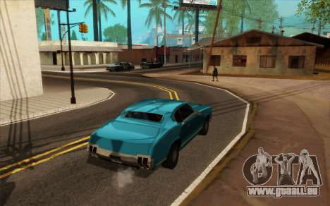 ENB pour de faibles PC (SAMP) pour GTA San Andreas sixième écran