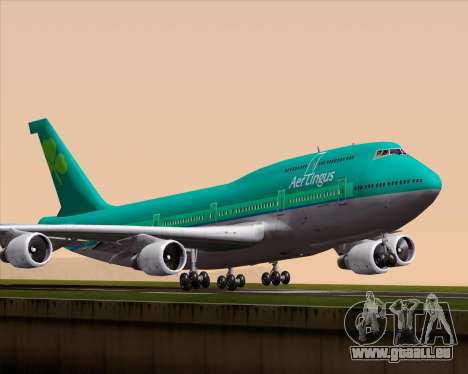 Boeing 747-400 Aer Lingus für GTA San Andreas