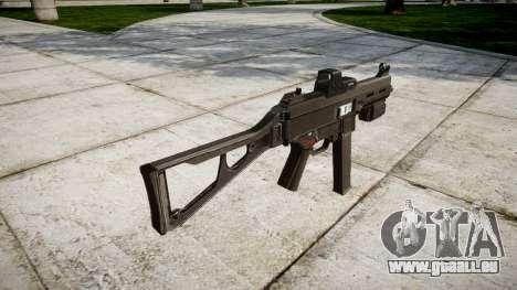 Deutsche Maschinenpistole HK UMP 45 für GTA 4 Sekunden Bildschirm