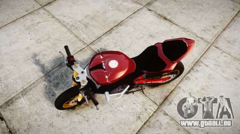 Yamaha YZF-R6 Stunt für GTA 4 rechte Ansicht