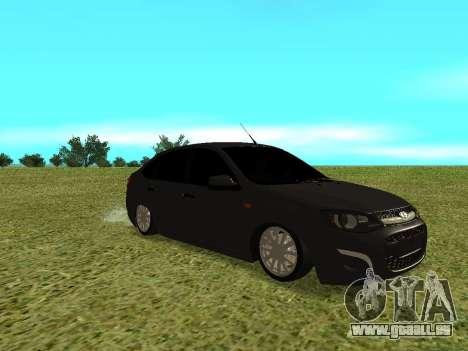Lada Granta Kalina 2 pour GTA San Andreas