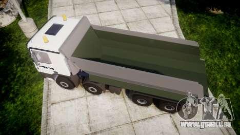 Mercedes-Benz Actros AFA für GTA 4 rechte Ansicht