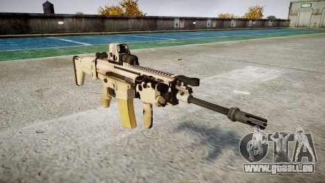 Maschine FN SCAR-L Mk 16 icon3 für GTA 4