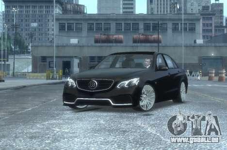 Mercedes-Benz E63 BRABUS 850 pour GTA 4