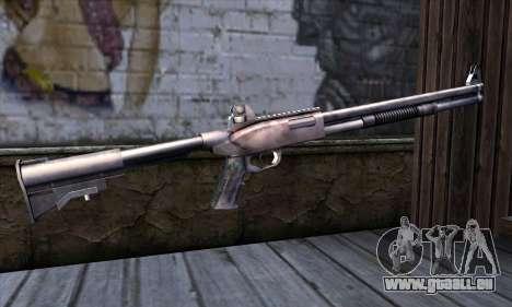 Chromegun Standart pour GTA San Andreas deuxième écran