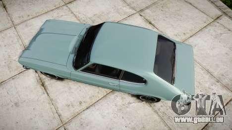 Ford Capri GT Mk1 pour GTA 4 est un droit