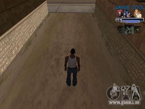 Anime C-HUD für GTA San Andreas zweiten Screenshot