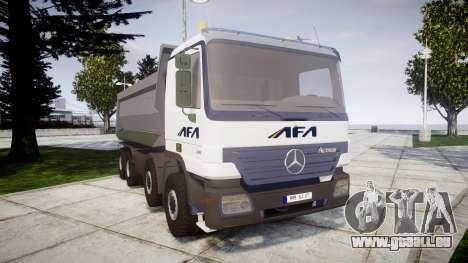 Mercedes-Benz Actros AFA pour GTA 4