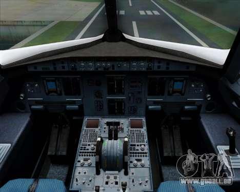 Airbus A320-200 Qantas für GTA San Andreas Innen