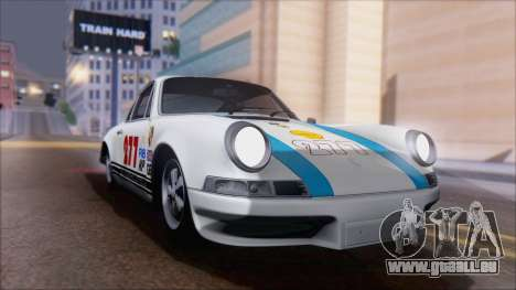 Porsche 911 Carrera 1973 Tunable KIT A für GTA San Andreas Innenansicht