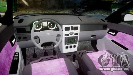 ВАЗ-21728 LADA Priora Coupe für GTA 4 Innenansicht