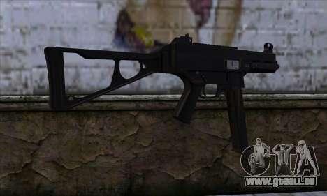UMP45 v1 pour GTA San Andreas deuxième écran