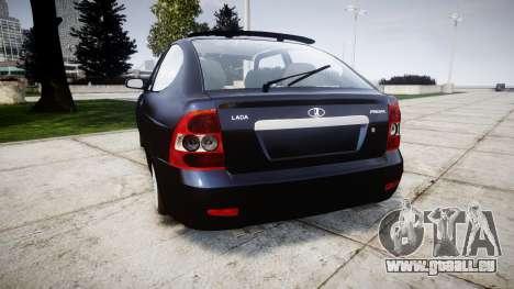 ВАЗ-21728 LADA Priora Coupe für GTA 4 hinten links Ansicht