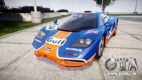 McLaren F1 1993 [EPM] Gulf 34 pour GTA 4