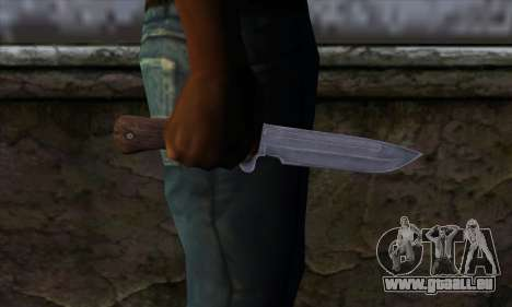 Daryl Knife from The Walking Dead für GTA San Andreas dritten Screenshot
