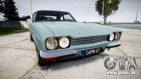 Ford Capri GT Mk1 pour GTA 4