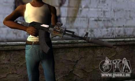 Assault Rifle from GTA 5 pour GTA San Andreas troisième écran