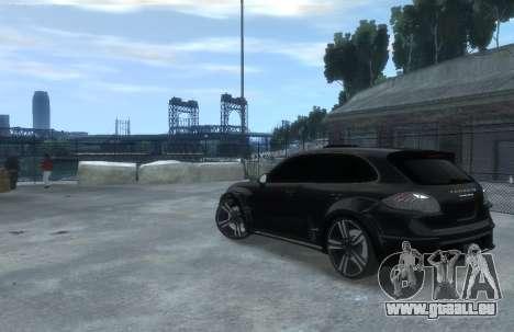 Porsche Cayenne 2012 GT pour GTA 4 est une gauche